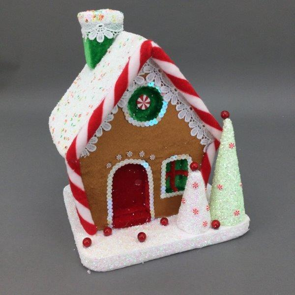 Gingerbread House Candy - My Christmas