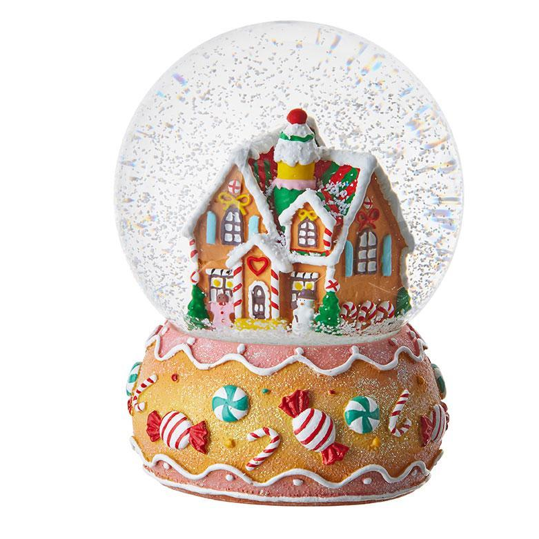 Gingerbread House Snowglobe - My Christmas