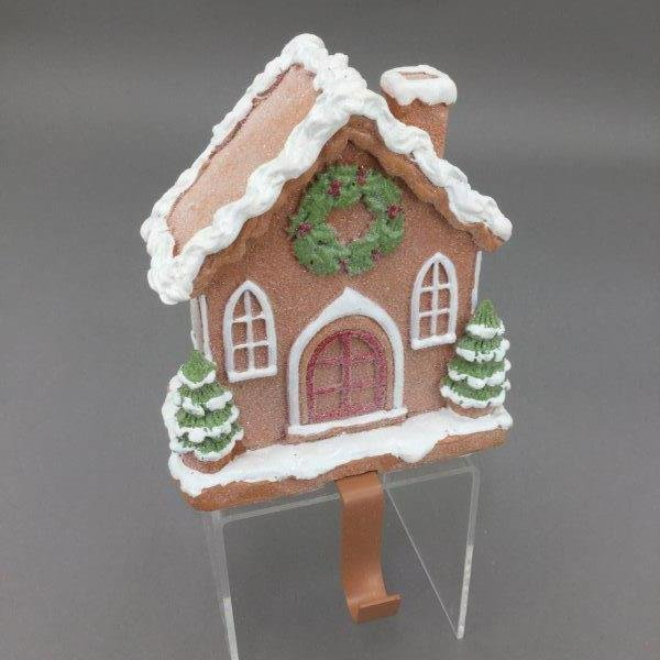 Gingerbread Stocking Holder - My Christmas
