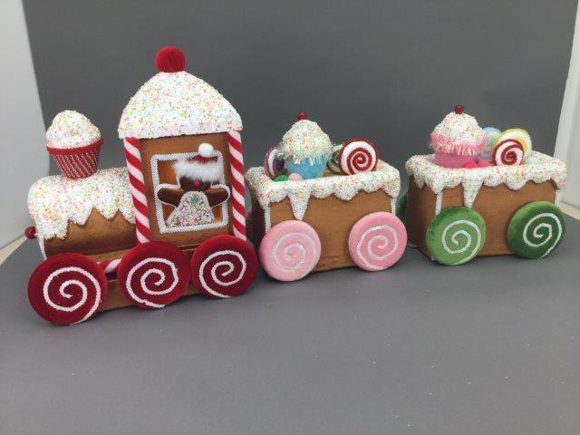 Gingerbread Train - My Christmas