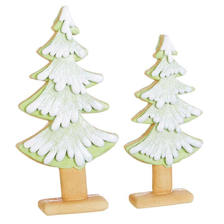Gingerbread Trees, set of 2 - My Christmas
