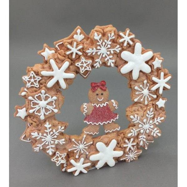 Gingerbread Wreath - My Christmas