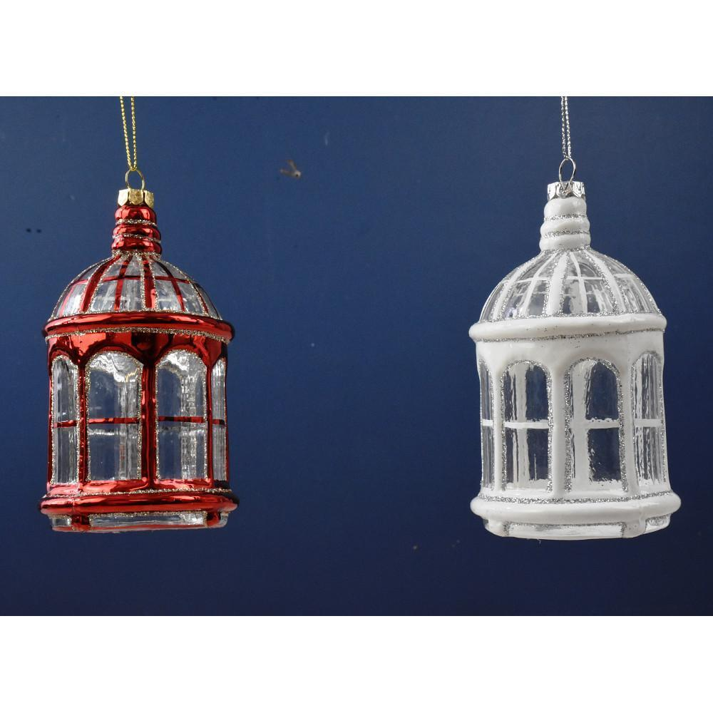 Glass Gazebo Ornament - My Christmas
