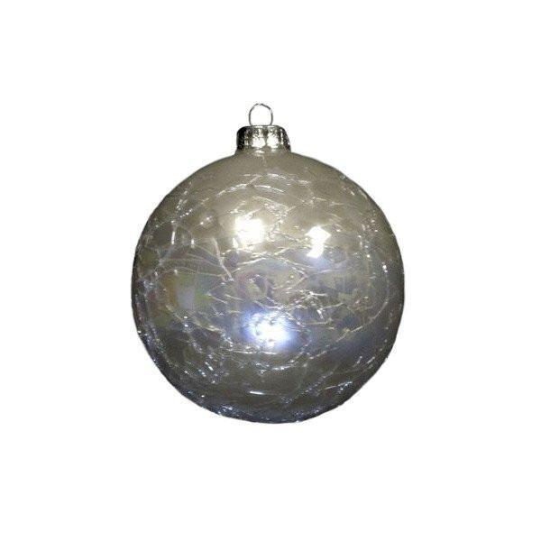 Glass Pearl Bauble - My Christmas