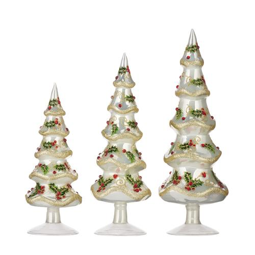 Glass Tree Set - My Christmas
