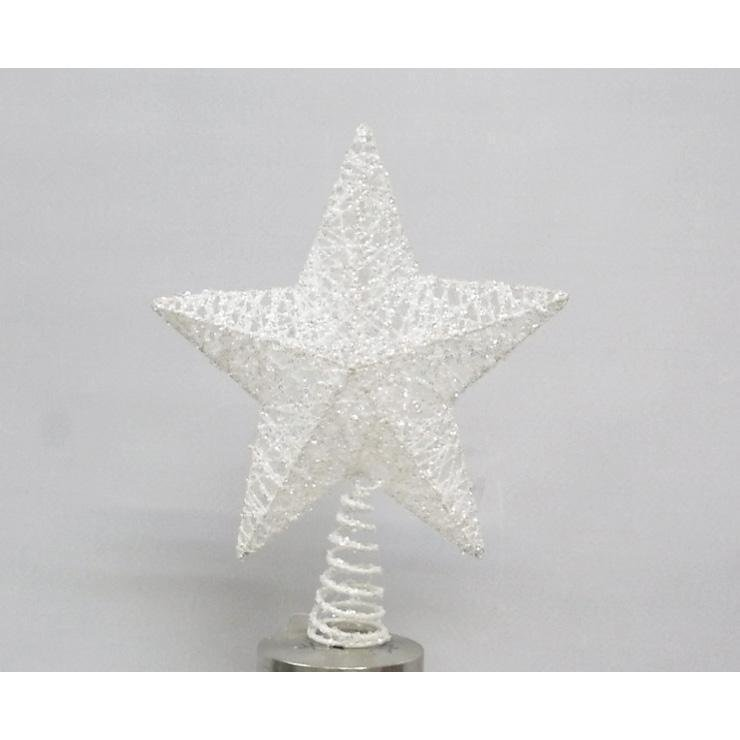 Glitter Star Tree Topper - My Christmas