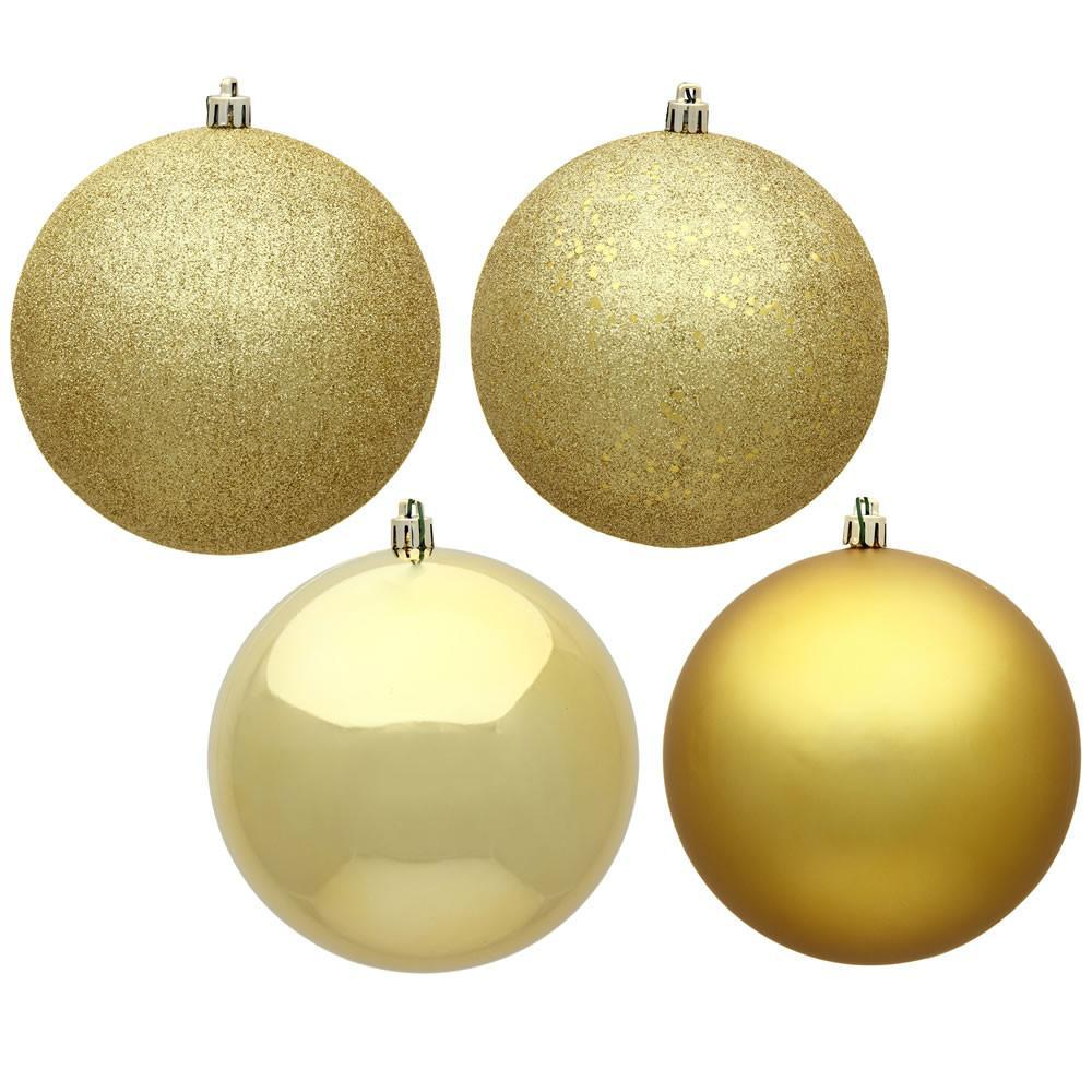 Gold 2.5cm Baubles, Pkt 18 - My Christmas