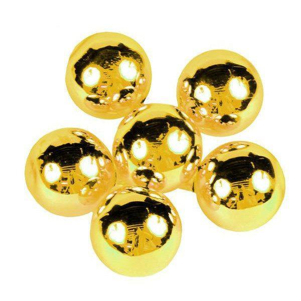 Gold Glass Balls, Bunch 6 - My Christmas