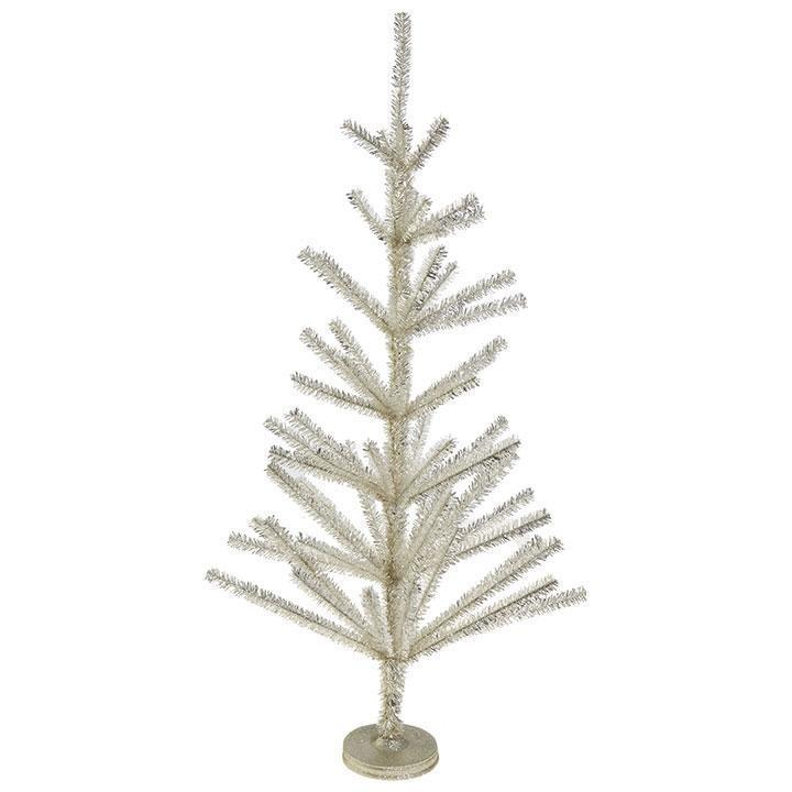Gold Tinsel Tree, 92cm - My Christmas