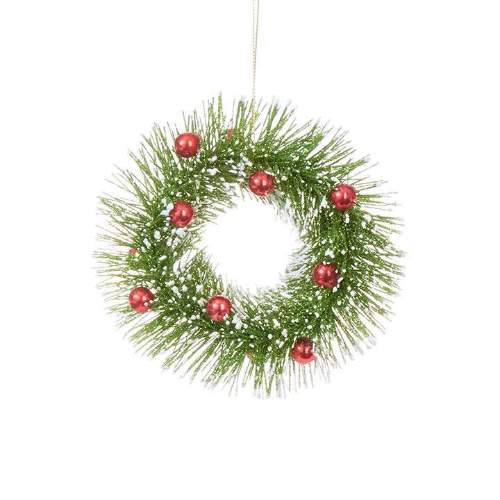 Green And Red Berry Hanging Ornament - My Christmas