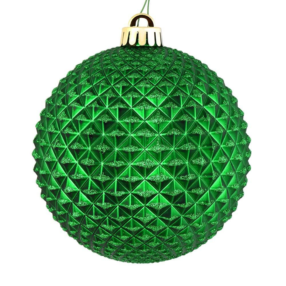 Green Durian Ball, 10cm - My Christmas