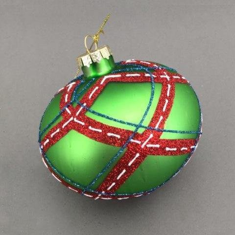 Green Stitched Onion - My Christmas