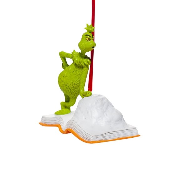 Grinch Book Ornament - My Christmas