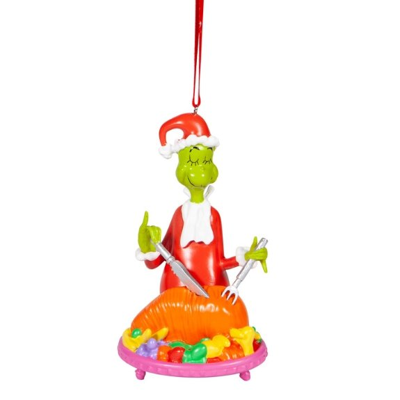 Grinch Carving Roast Ornament - My Christmas