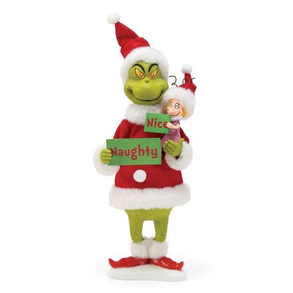 Grinch Naughty or Nice - My Christmas