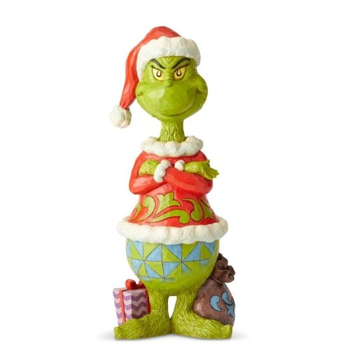 Grinch with Arms folded - My Christmas