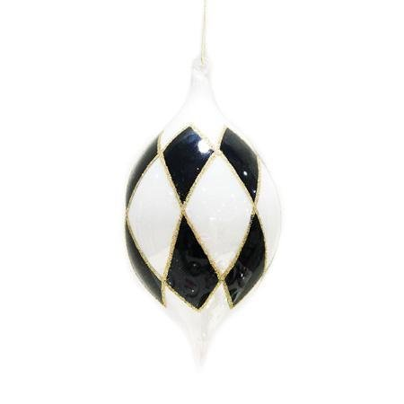Harlequin Finial Ornament - My Christmas