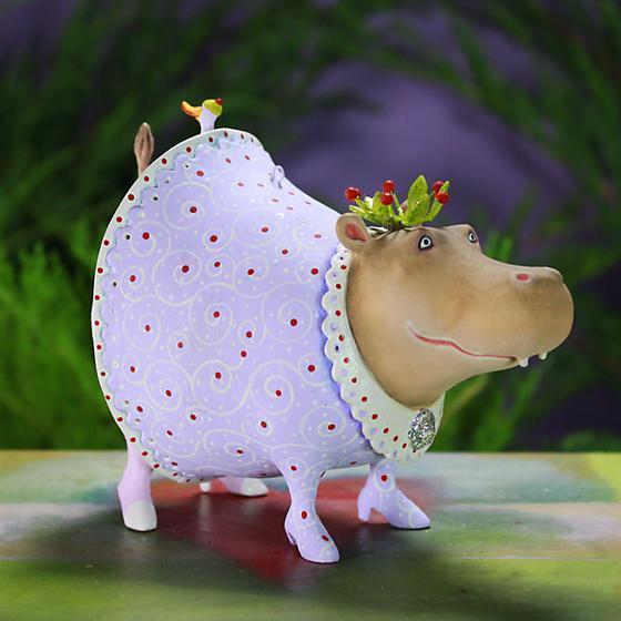 Helen Hippo Ornament - My Christmas