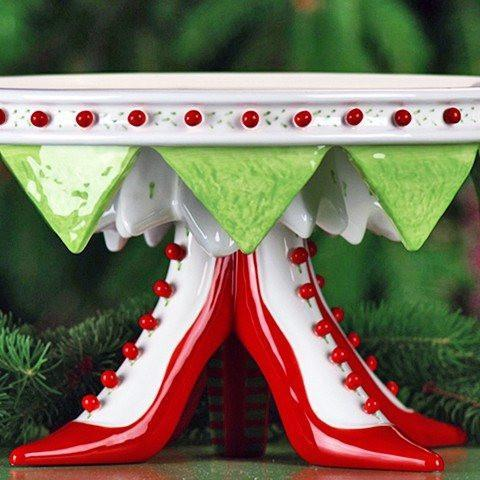High Heel Shoe Cake Plate - My Christmas