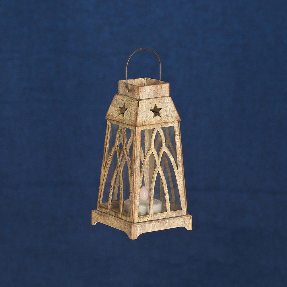 HIGH ST LED LANTERN WH - My Christmas