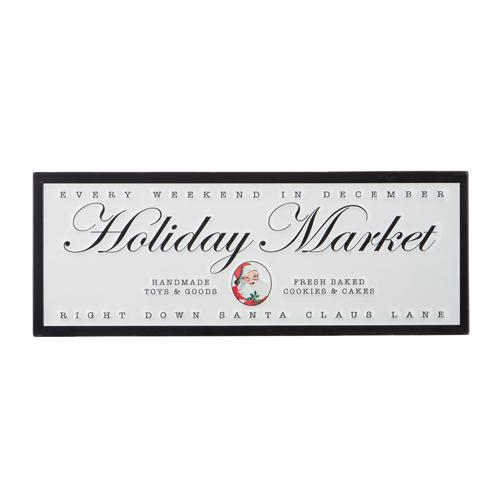 Holiday Market Wall Art - My Christmas