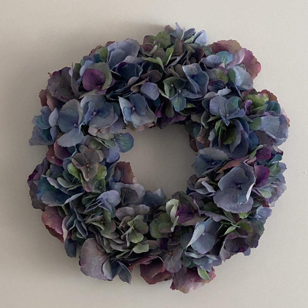 Hydrangea Wreath - My Christmas