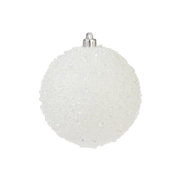 Iced Ball, 10cm - My Christmas
