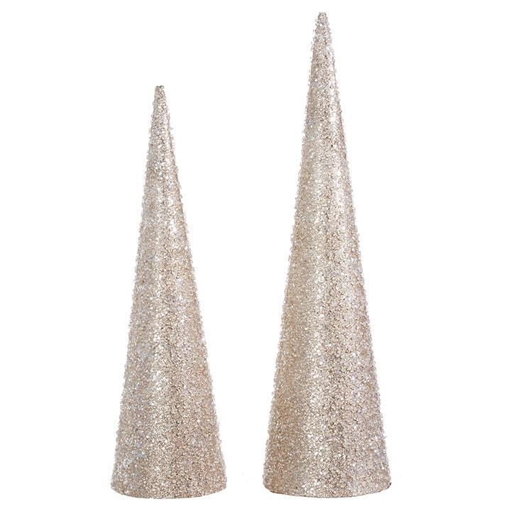 Iced Cone Trees - My Christmas