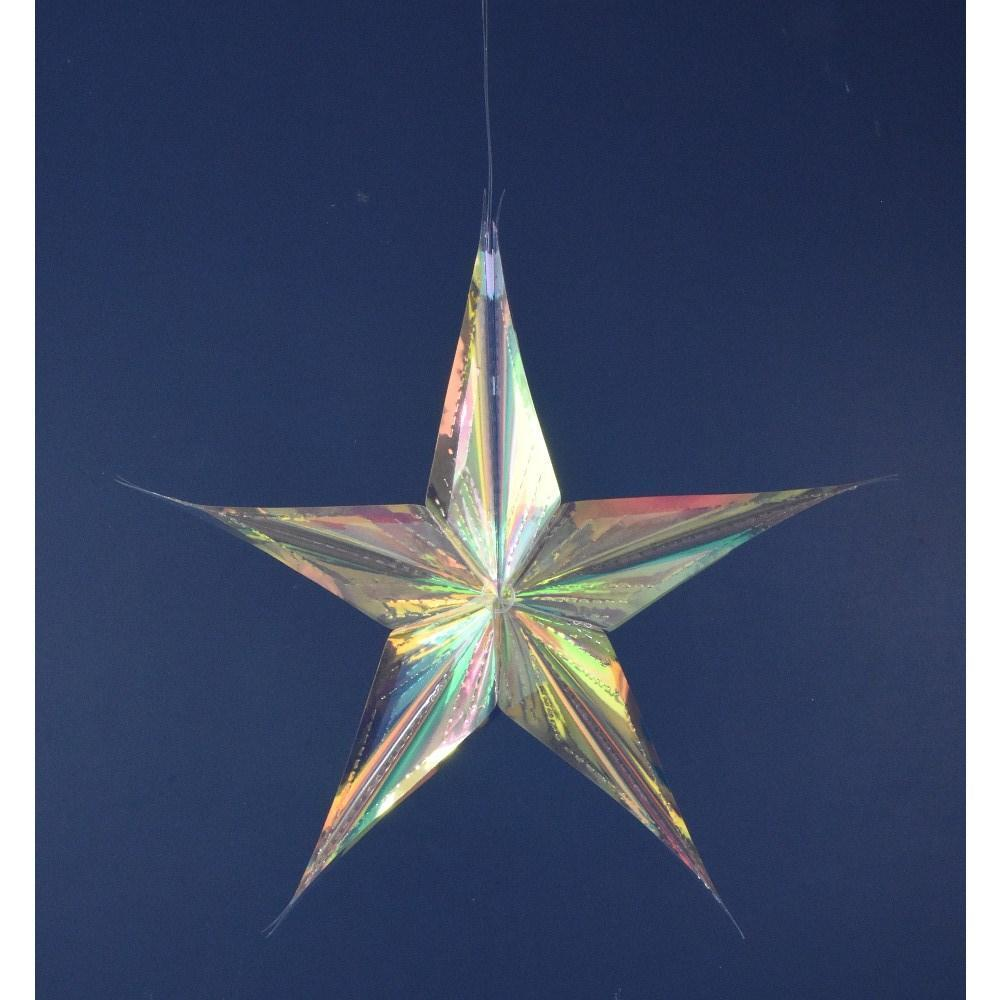 Iridescent Star Ornament - My Christmas