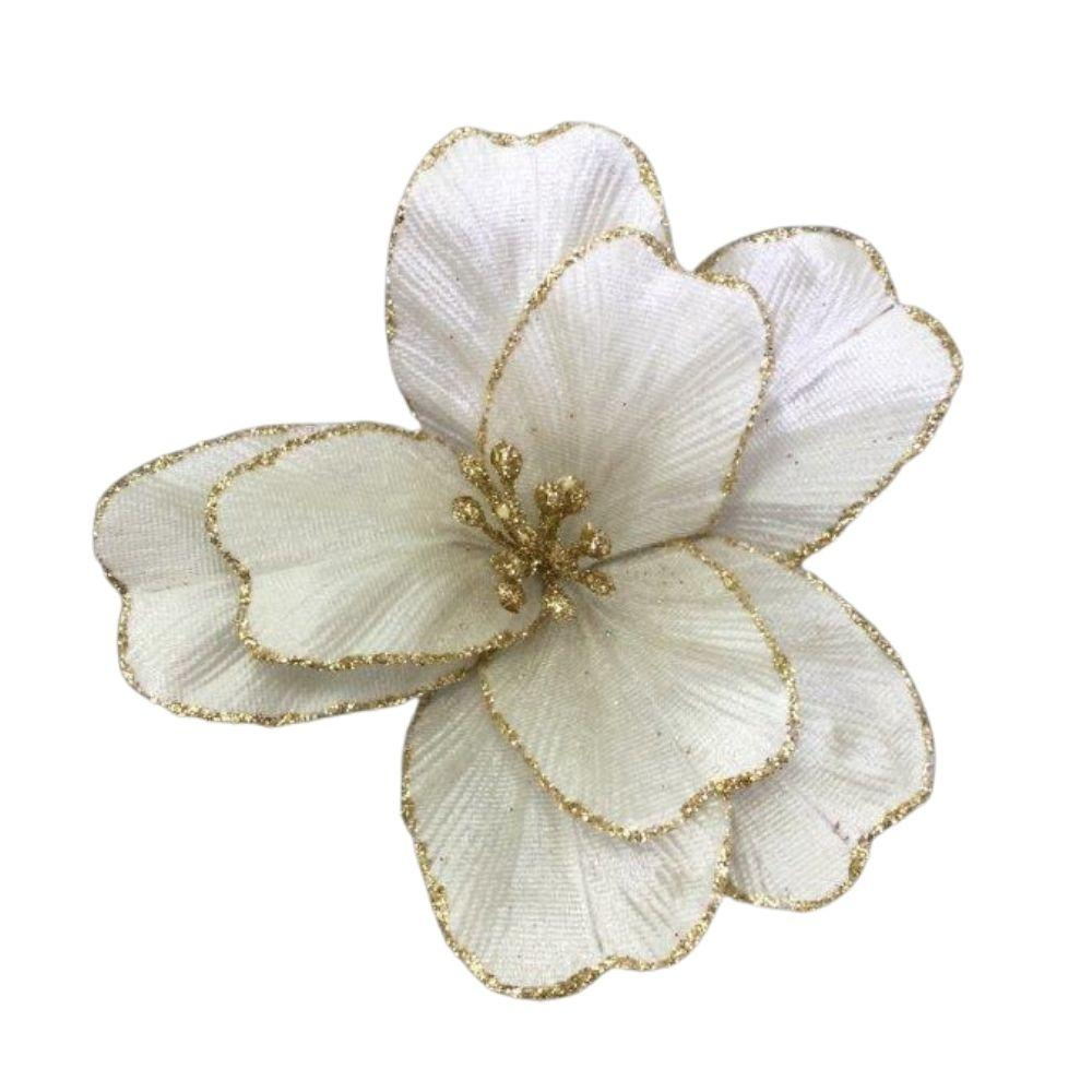 Ivory Small Flower - My Christmas