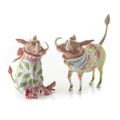 Jambo Walter Warthog Ornament - My Christmas