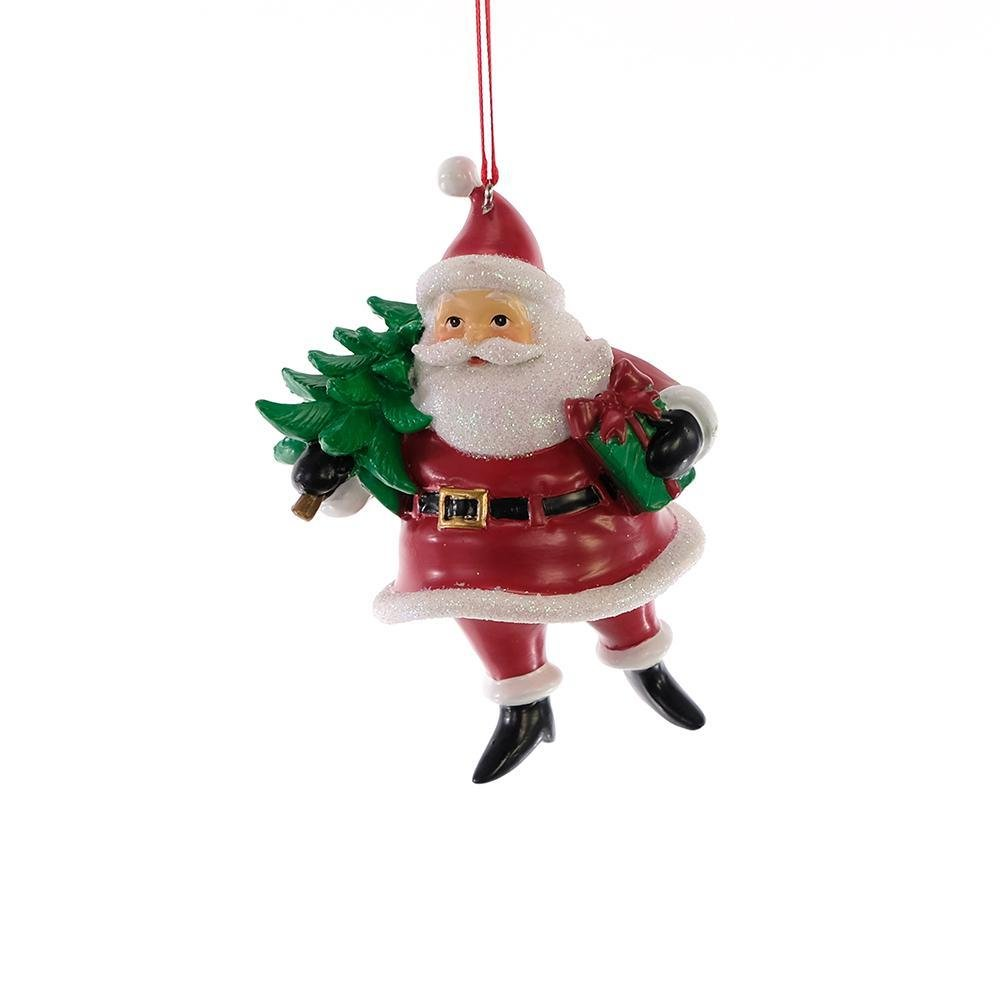 Jolly Santa Ornament - My Christmas
