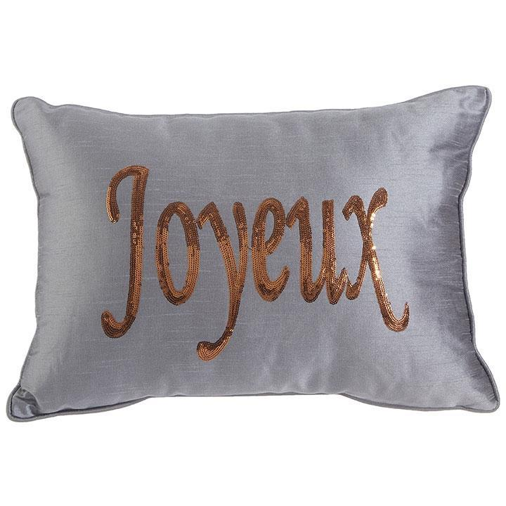 Joyeux' Pillow - My Christmas