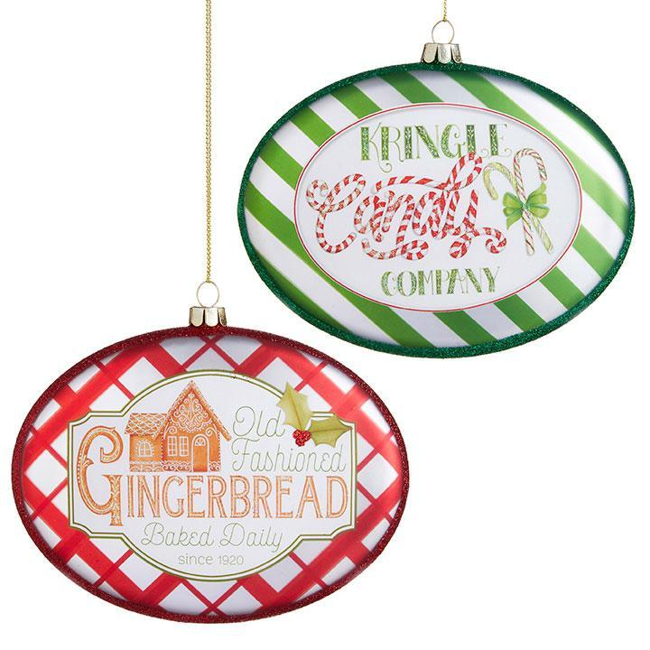 Kringle and Gingerbread Discs - My Christmas
