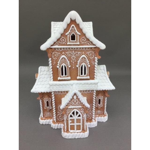 LED Gingerbread House - My Christmas