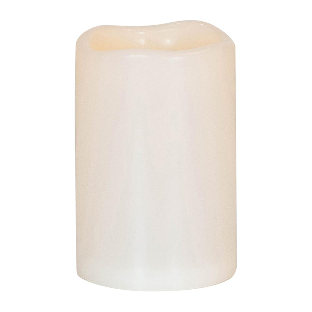 LED Pillar Candle, Large - My Christmas