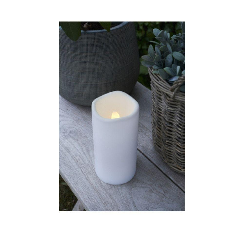 LED White Candles - My Christmas