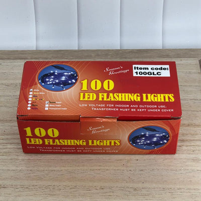 LED White Lights, 100 - My Christmas