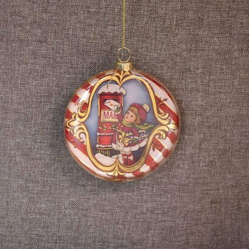 Letters To Santa Disc Ornament - My Christmas