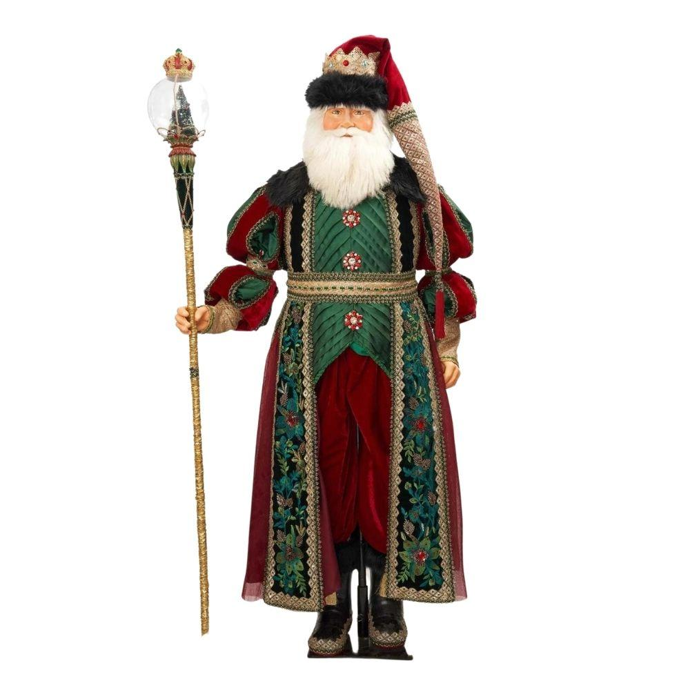 Lifesize Santa Kingston Tiding, 150cm - My Christmas