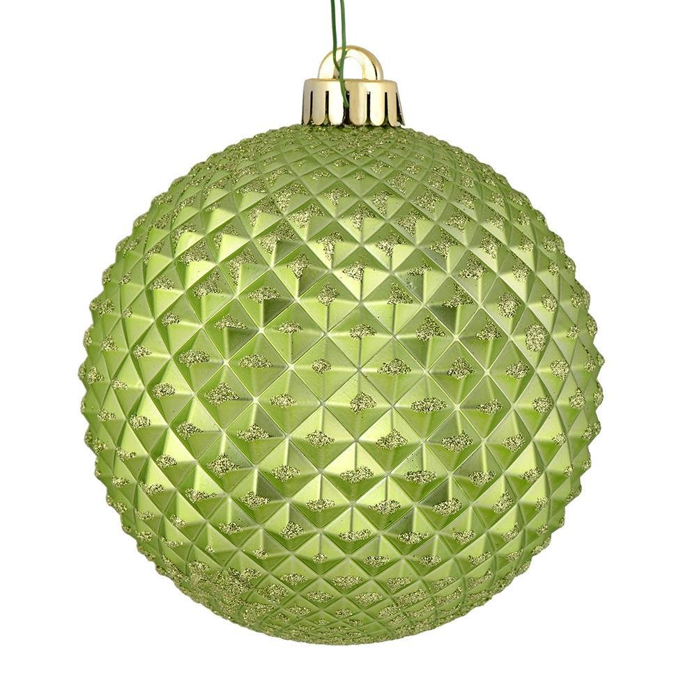 Light Green Durian Ball, 10cm - My Christmas