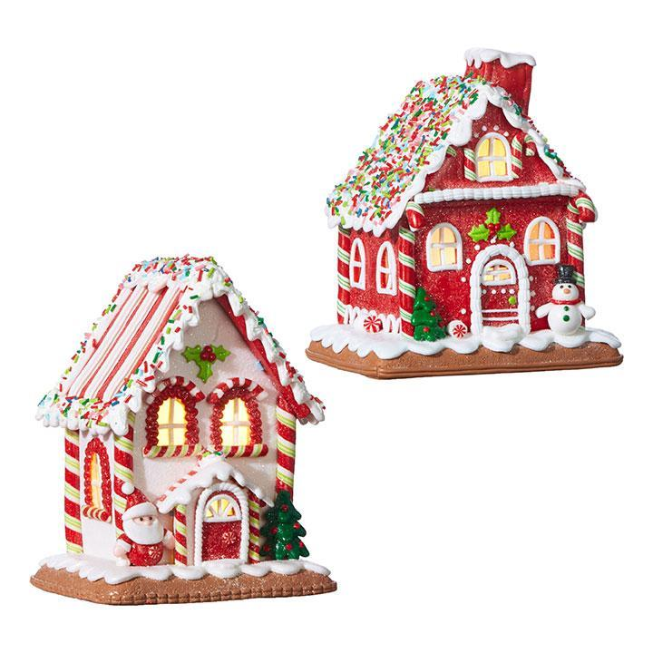 Light Up Candy Gingerbread House - My Christmas