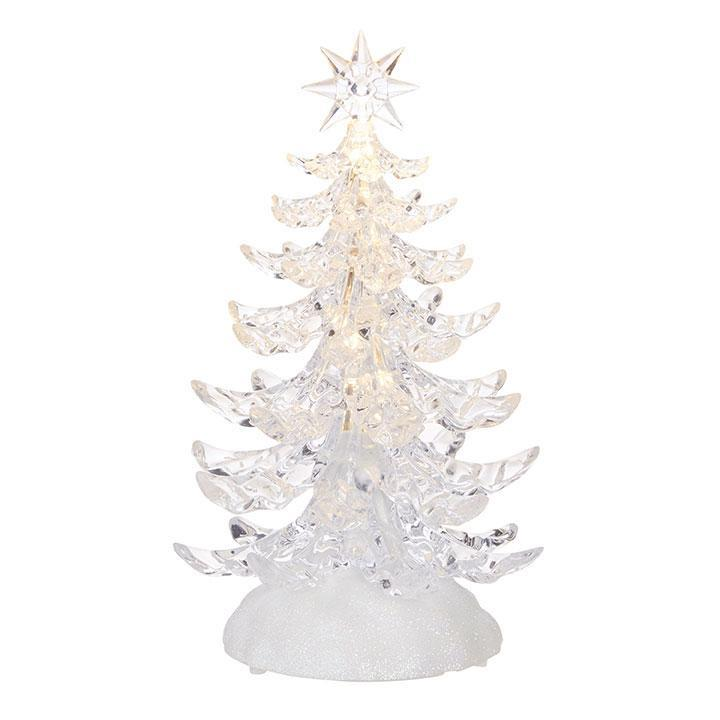 Light Up Crystal Tree, approx 24cm - My Christmas