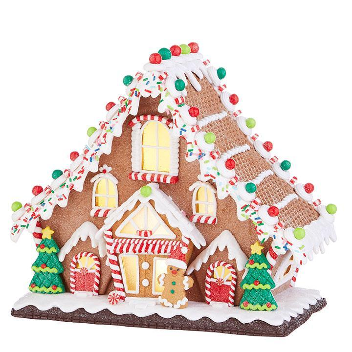 Light Up Gingerbread Lodge - My Christmas