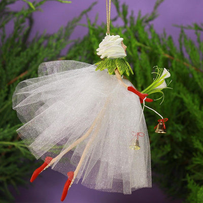 Lilly Fairy Ornament - My Christmas