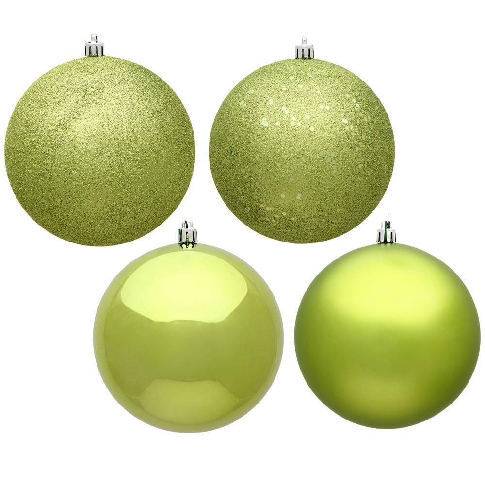 Lime 2.5cm Baubles, Pkt 18 - My Christmas