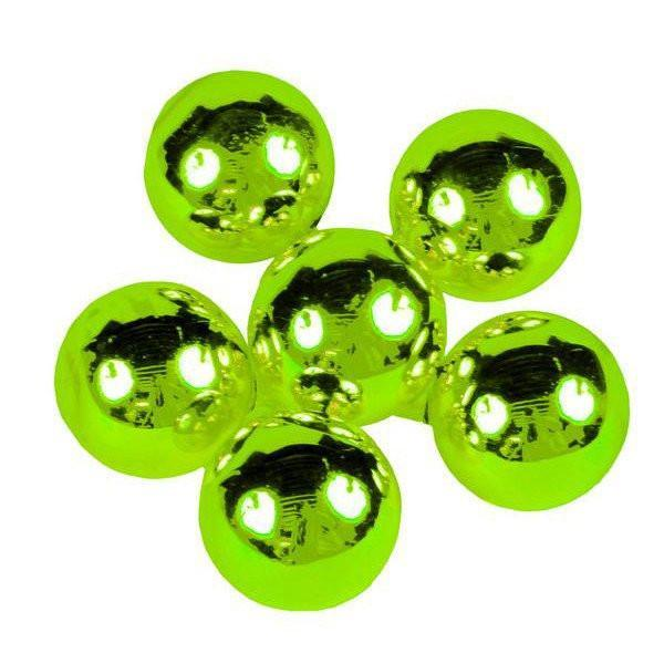 Lime Glass Balls, Bunch 6 - My Christmas