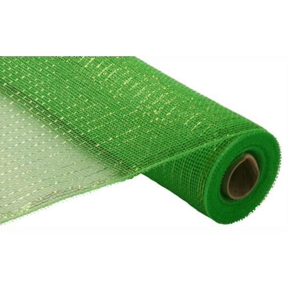 Lime Green Mesh, 50cm - My Christmas