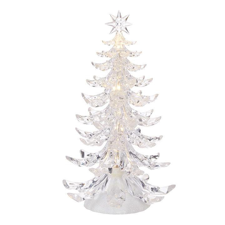 Lit Crystal Tree, 31cm - My Christmas