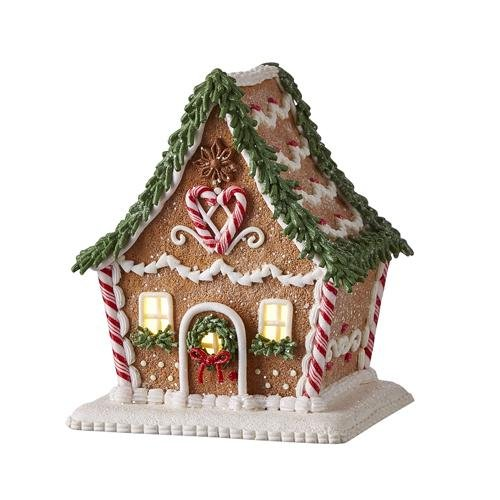 Lit Gingerbread House - My Christmas